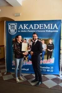 Studenci AJP z certyfikatami Legii Akademickiej_2